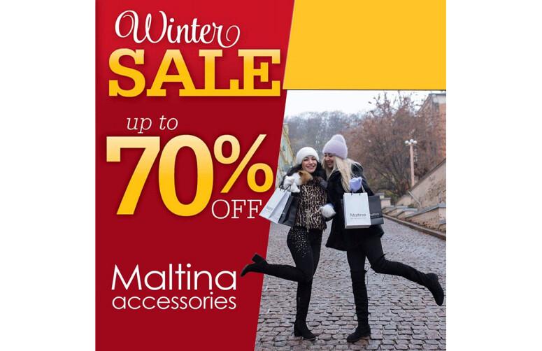 "Акція Final Winter Sale у ""Maltina Accessories"""